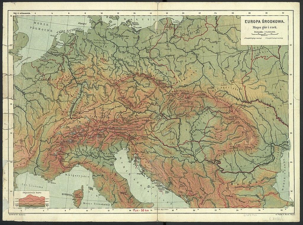 File Europa Srodkowa Mapa Gor I Rzek Podzialka 1 5 000 000