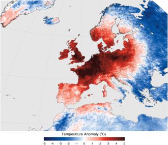 2006 European heat wave - Image: Europe 2006 Heatwave