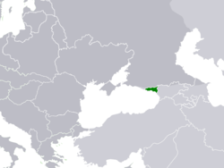 The Socialist Soviet Republic of Abkhazia in 1921.
