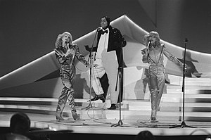 Luxembourg in the Eurovision Song Contest - Image: Eurovision Song Contest 1980 Sophie & Magaly