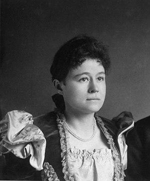 Eva Nansen - Eva Nansen in 1897