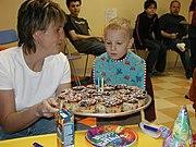 Aniversário de uma criança.