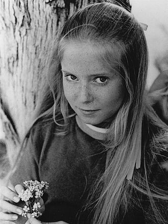 Eve Plumb - Plumb as Jan Brady on the 1970s sitcom The Brady Bunch