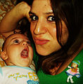 Evi Hassapides Watson and baby..jpg