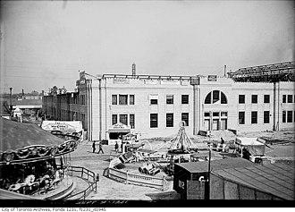 Ricoh Coliseum - Image: Exhibition Coliseum South Exterior 1921