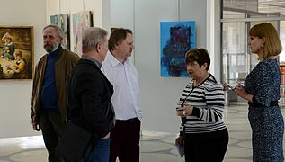 Exhibition LABIRINT Palace of Art 23.04.2014 Minsk 03.JPG