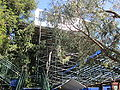 Extra bleachers at Taube Family Tennis Stadium for 2010 Bank of the West Classic 2.JPG