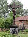 Féron (Nord, Fr) calvaire au cimetière.jpg