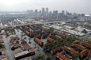 Property insurance - New Orleans in the aftermath of Hurricane Katrina