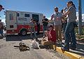 FEMA - 35447 - Volunteers eating food provided by the Red Cross in Colorado.jpg