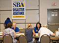 FEMA - 44444 - Small Business Administration(SBA) workers assist applicants in Oklahoma.jpg