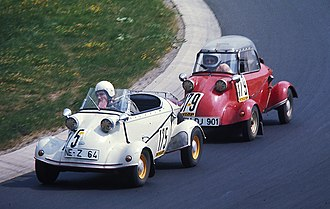 FMR Tg500 - The four-wheeled FMR Tg500 at the Nürburgring in 1976
