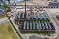 Fabrikhallen der ehemaligen Gasmotorenfabrik Deutz, Klöckner-Humboldt-Deutz, Westwaggon, Köln-Mülheim - Luftaufnahme-0909.jpg