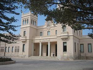 Archaeological Museum of Alicante - Facade of the Archaeological Museum