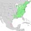Fagus grandifolia range map 2.png