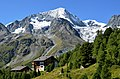 Fantastic location of appartments in Arolla Wallis with Pigne d'Arolla 3790 m - panoramio.jpg