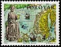 Faroe stamp 280 olavur halgi (st olav).jpg