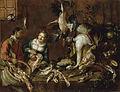 Felice Boselli Marchande de volailles et de poissons.jpg