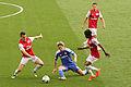 Fernando Torres, Laurent Koscielny, Gervinho & Aaaron Ramsey (7100588501).jpg