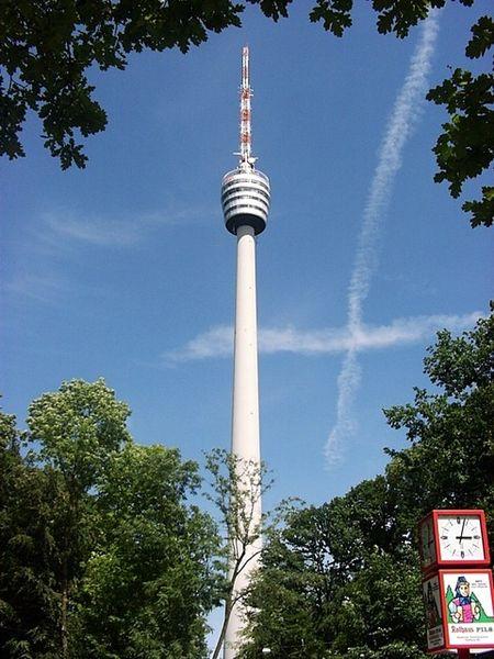 Fichier:Fernsehturm Stuttgart (Deutschland)-TV tower Stuttgart (germany).jpg
