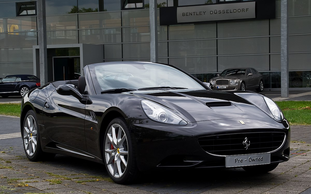 Ferrari California \u2013 Wikipedia