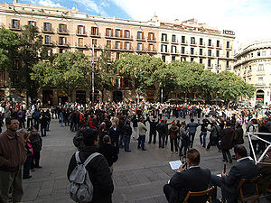 Dance festival in Barcelona