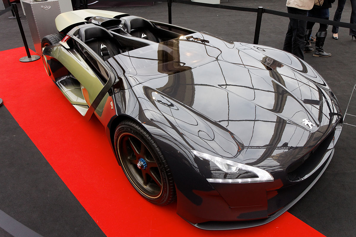 Peugeot EX1 Concept - Wikipedia