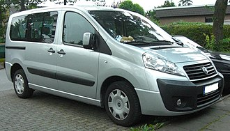 Fiat Professional - Image: Fiat Scudo 2008 front