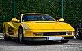 "File"" 13 - Italian supercar - yellow Ferrari Testarossa.jpg"