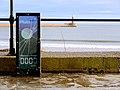 Final C2C waymarker by Andrew Small, Roker promenade - geograph.org.uk - 2194744.jpg