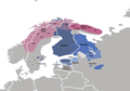 Finno-Samic languages map.png