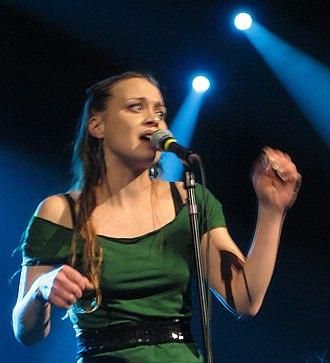 MTV Video Music Award for Best New Artist - 1997 award winner Fiona Apple