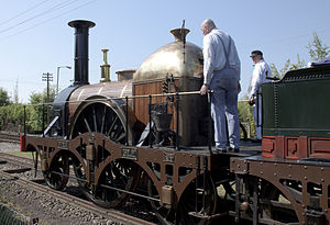 Haycock boiler - GWR ''Firefly'' class replica