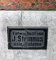 Firmenschild, Johann Steinnus.JPG