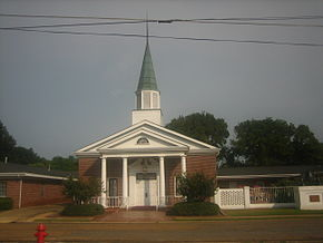 First Baptist Church, Jonesville Louisiana.JPG