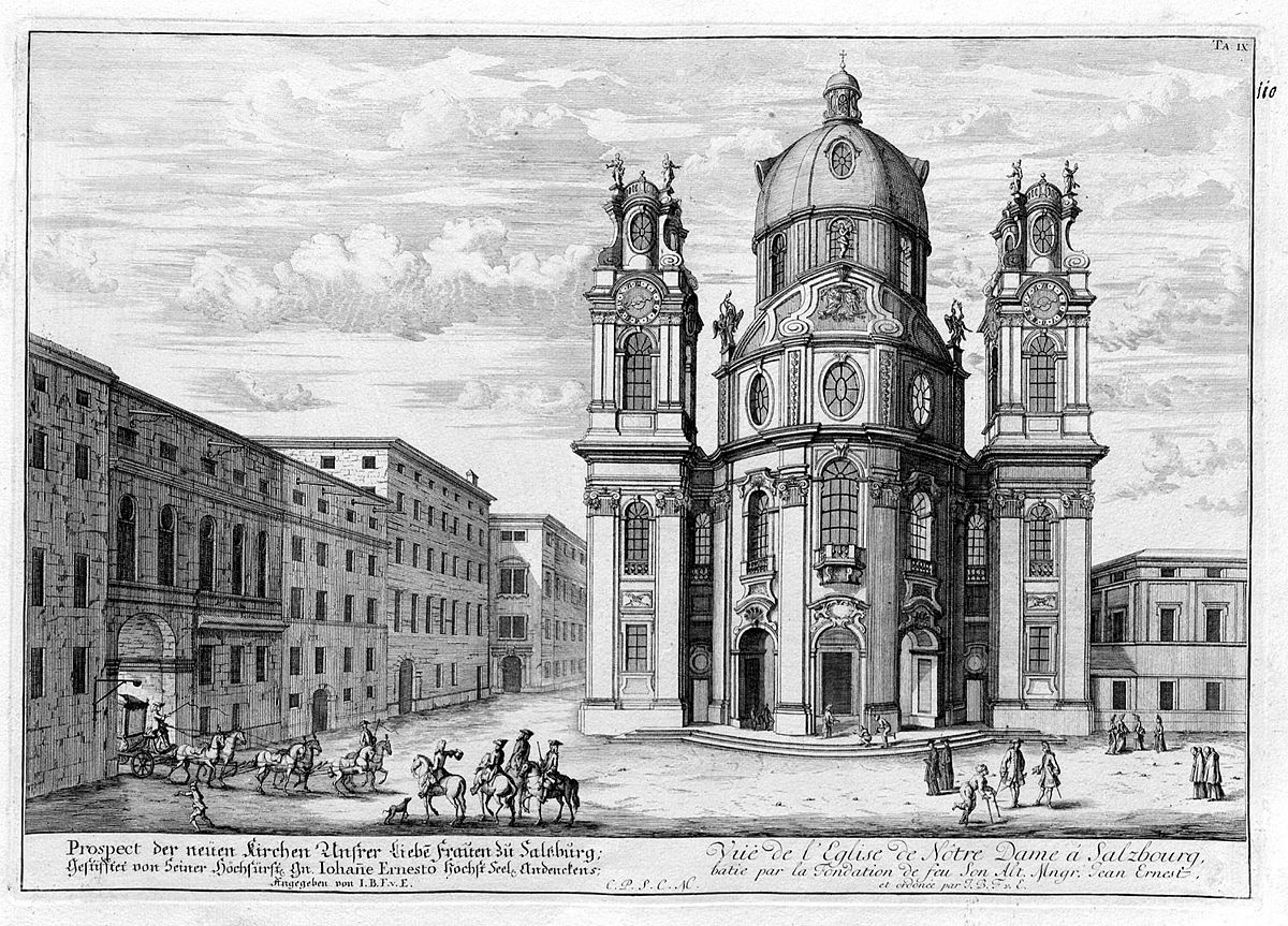 Kollegienkirche wikipedia for Entwurf architektur