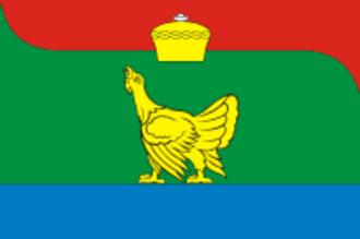 Chebarkulsky District - Image: Flag of Chebarkul rayon (Chelyabinsk oblast)