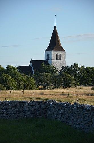 Fleringe - Image: Fleringe kyrka