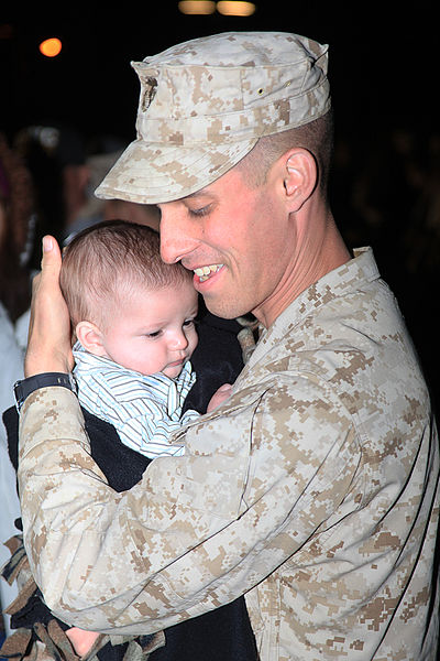 File:Flickr - DVIDSHUB - Marines, families overjoyed at homecoming (Image 1 of 7).jpg