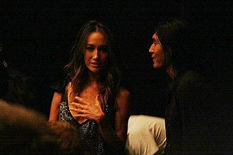 Maggie Q - Maggie Q, at the world premiere of The Warrior and the Wolf