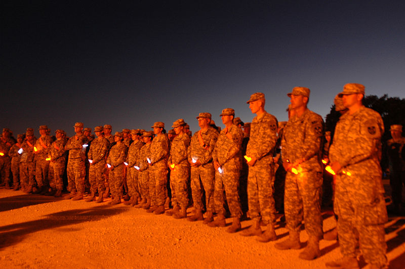 File:Flickr - The U.S. Army - Soldiers Gather for Twilight Vigil at Fort Hood.jpg