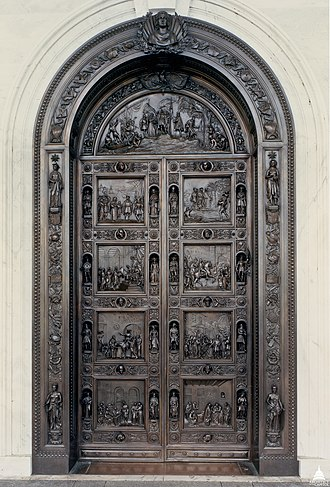 Columbus Doors - Image: Flickr US Capitol Columbus Doors