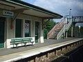 Flint railway station and footbridge - geograph.org.uk - 1848917.jpg