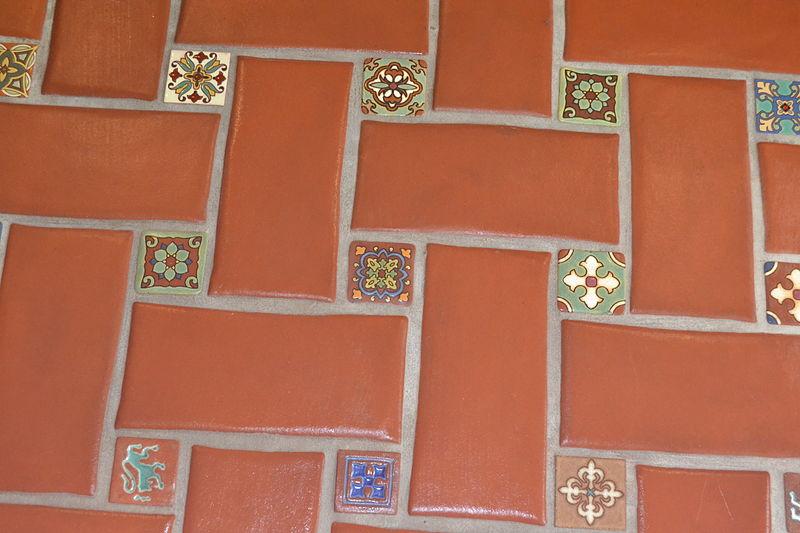 Ceramic Decorative Tile Inserts Kitchen Backsplash