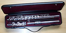 History of Western concert flute