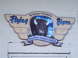 Flying Bison Sign.JPG