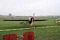 Fokker EIII Oblt Schildknecht RFront Dawn Patrol NMUSAF 26Sept09 (14576889746).jpg