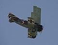 Fokker Triplane Dr1 flyby 5 (9843414064).jpg