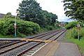 Foot crossing, Gwersyllt railway station (geograph 4024850).jpg