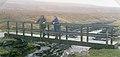 Footbridge over the Maize Beck - geograph.org.uk - 1726884.jpg
